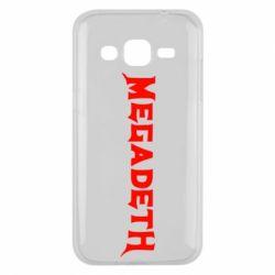 Чехол для Samsung J2 2015 Megadeth