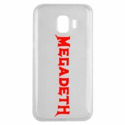 Чохол для Samsung J2 2018 Megadeth