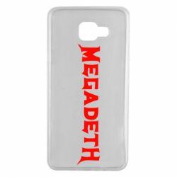 Чехол для Samsung A7 2016 Megadeth