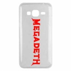 Чехол для Samsung J3 2016 Megadeth