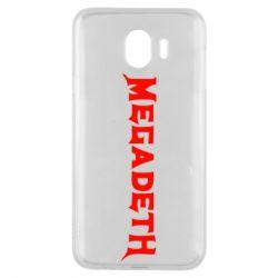 Чехол для Samsung J4 Megadeth