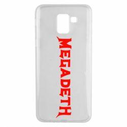 Чехол для Samsung J6 Megadeth