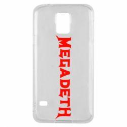 Чохол для Samsung S5 Megadeth