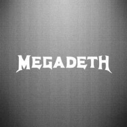 Наклейка Megadeth - FatLine