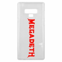 Чехол для Samsung Note 9 Megadeth