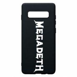 Чехол для Samsung S10+ Megadeth