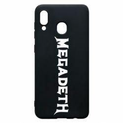 Чехол для Samsung A20 Megadeth