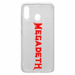 Чехол для Samsung A30 Megadeth