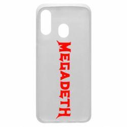 Чехол для Samsung A40 Megadeth