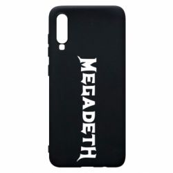Чехол для Samsung A70 Megadeth