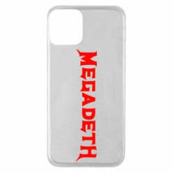 Чохол для iPhone 11 Megadeth