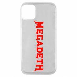 Чехол для iPhone 11 Pro Megadeth