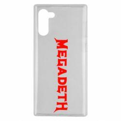 Чехол для Samsung Note 10 Megadeth