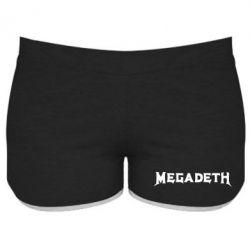 Женские шорты Megadeth - FatLine