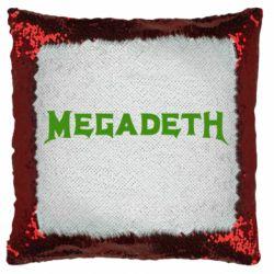 Подушка-хамелеон Megadeth