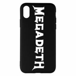 Чохол для iPhone X/Xs Megadeth