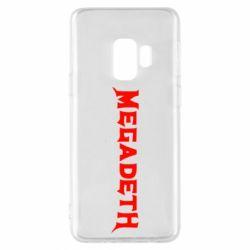 Чехол для Samsung S9 Megadeth