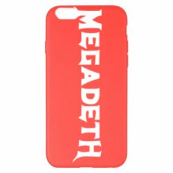 Чохол для iPhone 6 Plus/6S Plus Megadeth