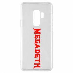 Чохол для Samsung S9+ Megadeth