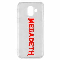 ROCK, Чехол для Samsung A6 2018 Megadeth, FatLine  - купить со скидкой