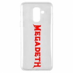 Купить ROCK, Чехол для Samsung A6+ 2018 Megadeth, FatLine