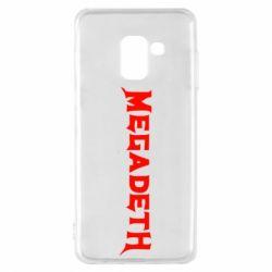 Чехол для Samsung A8 2018 Megadeth
