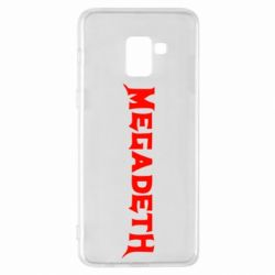 Чехол для Samsung A8+ 2018 Megadeth