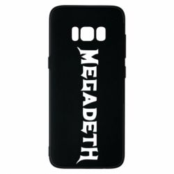 Чехол для Samsung S8 Megadeth