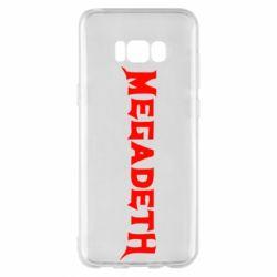Чехол для Samsung S8+ Megadeth