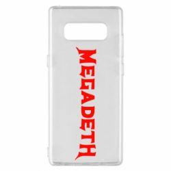 Чехол для Samsung Note 8 Megadeth