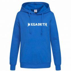 Женская толстовка Megadeth - FatLine