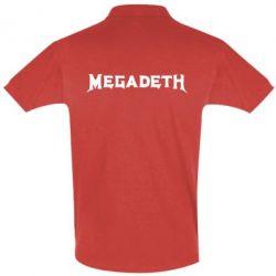Футболка Поло Megadeth - FatLine
