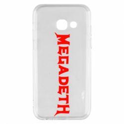Чехол для Samsung A3 2017 Megadeth