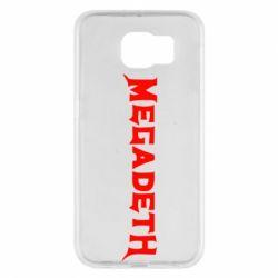 Чехол для Samsung S6 Megadeth