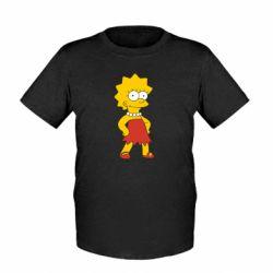 Детская футболка Мэгги Симпсон - FatLine