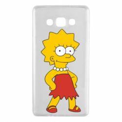 Чехол для Samsung A7 2015 Мэгги Симпсон - FatLine