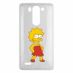 Чехол для LG G3 mini/G3s Мэгги Симпсон - FatLine