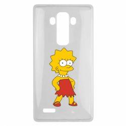 Чехол для LG G4 Мэгги Симпсон - FatLine