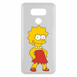 Чехол для LG G6 Мэгги Симпсон - FatLine