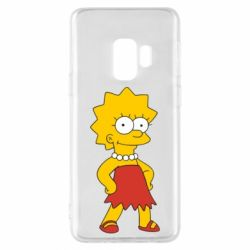 Чехол для Samsung S9 Мэгги Симпсон - FatLine