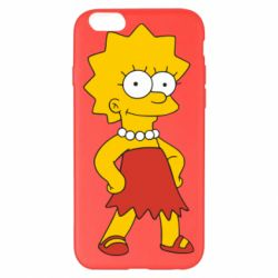 Чехол для iPhone 6 Plus/6S Plus Мэгги Симпсон - FatLine