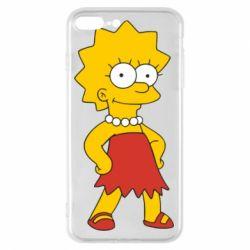 Чехол для iPhone 7 Plus Мэгги Симпсон - FatLine