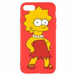 Чехол для iPhone 8 Мэгги Симпсон - FatLine