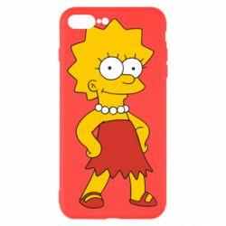 Чехол для iPhone 8 Plus Мэгги Симпсон - FatLine