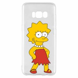 Чехол для Samsung S8 Мэгги Симпсон - FatLine