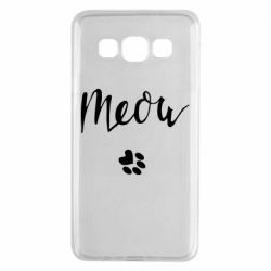 Чохол для Samsung A3 2015 Meow and the trail of a cat
