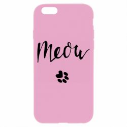 Чохол для iPhone 6 Meow and the trail of a cat