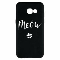 Чохол для Samsung A5 2017 Meow and the trail of a cat