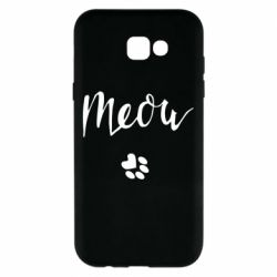 Чохол для Samsung A7 2017 Meow and the trail of a cat