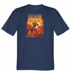 Мужская футболка Meow Doom
